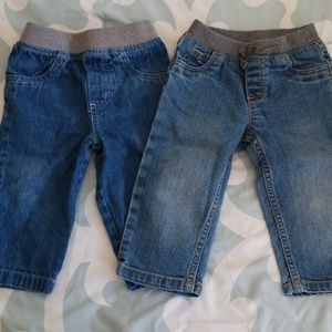 Baby pull on jeans Size 12 months